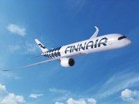 linie lotnicze, przewoźnik lotniczy, finnair, samolot, airbus