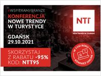 Gdańska organizacja turystyczna, New Trends in Tourism, konferencja, turystyka, Gdańsk