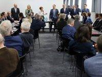 spotkanie Minister Rozwoju, Jadwiga Emilewicz, Andrzej Gut-Mostowy, branża turystyczna, Bartosz Bieszyński