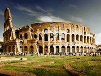 rzym, kolosem, wzmacnia ochronę, żołnierze, policja, włochy,