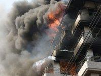 pożar, Delhi, Indie, Hotelu Arpit Palace, Karol Bagh