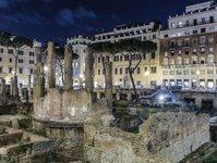 Włochy, Rzym, zabytek, Largo di Torre Argentina, Sovrintendenza Capitolina ai Beni Culturali