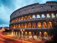 rzym, kolejki powietrzne, transport, tramwaj powietrzny, korki,