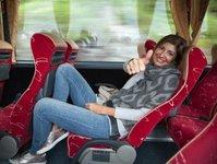 Flixbus, autobus, przewoźnik, rozrywka, Amazon Prime Oryginal