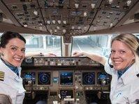 Emirates, Air France, KLM, dzień kobiet,