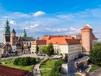 Kraków, tramwaj, wawel, turyści, problem