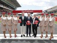 Emirates, umowa, formuła F1, współpraca, wyścigi samochodowe,
