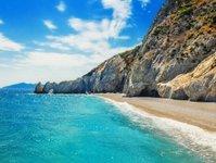 skiatos, lalaria, grecja, plaża, kamyk, zakaz, mandat,