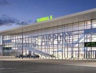 Katowice, terminal, rozbudowa, lotnisko, pasażer
