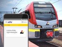 kolej, łódzka kolej aglomeracyjna, płatności mobilne, pociąg,pasażer