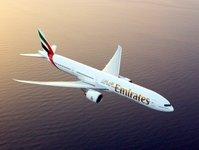 emirates, zawieszenie lotów, przewoźnik lotniczy, samolot,