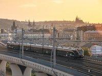 leo express, praga, kraków, katowice, przewoźnik kolejowy, pociąg