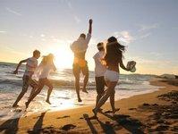 wakacje, urlop, Polacy, aktywność, sport
